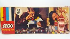 Vintage LEGO Samsonite 1960's No. 375  375 Piece Set - 93.8% 352 Accounted for