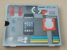 """Cocoon Grid It 11"""" iPad Tablet Case Cover Accessory Organiser Magnetic Pocket"""