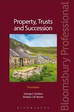 Property, Trusts and Succession by Andrew Steven 9781526500564 | Brand New