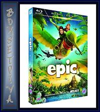 EPIC - Amanda Seyfried & Josh Hutcherson   **BRAND NEW BLU-RAY  **