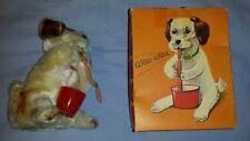 Vintage DBGM Gesch West Germany Wau Wau puppy Dog Windup toy in original box