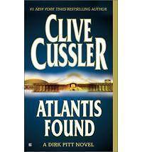 Fiction Novel - Atlantis Found by Clive Cussler (Hard cover)
