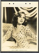 GORGEOUS + SEXY EARLY SUSAN HAYWARD PHOTO - 1939 DBLWT KEY BOOK - GREAT ACTRESS