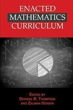 NEW - Enacted Mathematics Curriculum: A Conceptual Framework and Research Needs