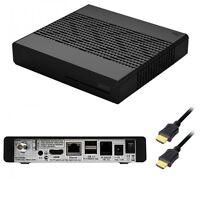 VU+ ZERO 1x DVB-S2 Tuner black Full HD 1080p Linux Satelliten Receiver Solo Duo