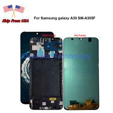 QC For Samsung Galaxy A30 2019 SM-A305f SM A305G A305M LCD Touch Screen +Frame
