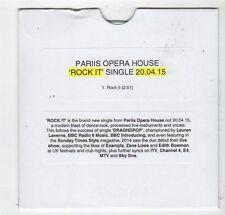 (FY891) Pariis Opera House, Rock It - 2015 DJ CD