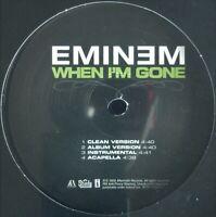 "EMINEM ""WHEN I'M GONE"" 2005 VINYL 12"" SINGLE 8 MIXES ~RARE~ HTF *SEALED*"
