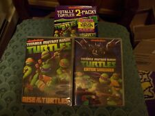 Totally Turtles 2-Pack: Rise Of The Turtles / Enter Shredder DVD Nickelodeon