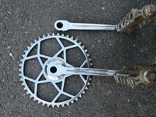 A.DUPRAT VINTAGE PEDALIER VELO COURSE ROAD BICYCLE CRANKSET old bike