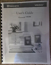 Husqvarna Viking Emerald 183 203 Sewing Owners Users Operators Guide Manual Book