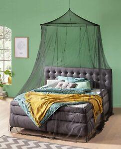 RSP® Moskitonetz Home für Doppelbetten mit extra großem Spannring, schwarz