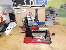 VINTAGE Mamod sp2 s.p.2 motore a vapore vivo Cartoleria con Scatola