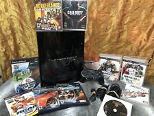 Sony PS3 60GB Fat *Backwards Compatible* Bundle CECHB01 PlayStation 3 PS2 PS1