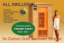 Infrarot Wärmekabine Infrarotsauna Sauna Infrarotkabine Fonteyn Ivar 2 Carbon