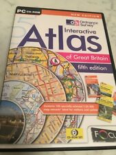 The Ordnance Survey Interactive Atlas Of Great Britain 5th Edition