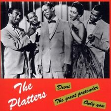 THE PLATTERS - GREATEST HITS 2 CD NEUF