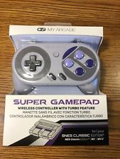 My Arcade Super Gamepad Wireless Controller Nintendo SNES NES Classic Wii U NEW