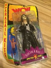 "Vintage1998 Toy Biz WCW ""Sting"" 40"" Parasail Kite & Action Figure Wwe Wwf NWO"