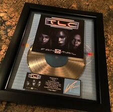 TLC Fan Mail Platinum Record Album Disc Music Award MTV Grammy RIAA