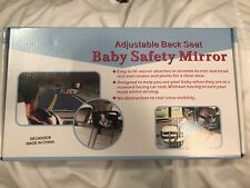 New In Box Baby Safety Car Backseat Mirror