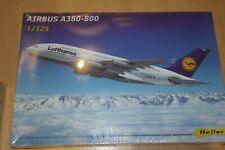 HELLER 1:125 LUFTHANSA AIRBUS  A380  80439