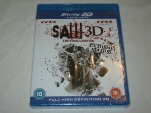 SAW 3D - The Final Chapter - Brand New & Sealed - Region B - Blu Ray