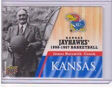 2013 Upper Deck Kansas #1 James Naismith Mint Jayawks KU