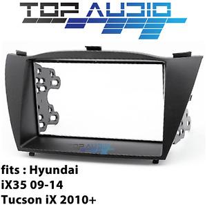 fit Hyundai ix35 car stereo radio Double 2 Din fascia dash panel facia kit trim
