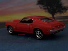 69 1969 FORD MUSTANG BOSS 429 COLLECTIBLE 1/64 SCALE MODEL  DIORAMA OR DISPLAY