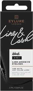 Eylure Line & Lash, Liner Pen & Lash Glue - Black