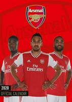 Arsenal Official 2020 A3 Wall Calendar Soccer Footbal by Danilo Free Post