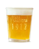 Servizio Set 6 Bicchieri Birra ichnusa Bionda Non Filtrata Sardegna 20 cl 6 PZ