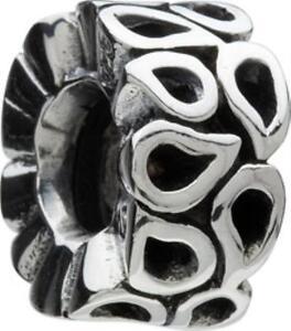 Authentic Chamilia Sterling .925 Silver Bead  GA-67 Open Swirls- FREE SHIPPING