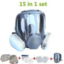 Gas Mask For 3M Full Face Facepiece Respirator Medium 15 in 1 Painting Spraying