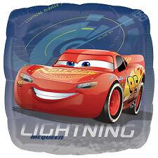 "Disney Cars 3 Rayo Mcqueen 18"" Aluminio Globo De Helio Fiesta"