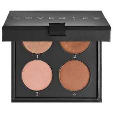 COVER FX THE PERFECT LIGHT HIGHLIGHTING PALETTE SIZE: .38 OZ COLOR-LIGHT/MED