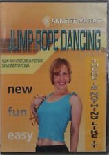 NEW Jump Rope Dancing Anette Maria tone strengthen workout exercise fitness DVD