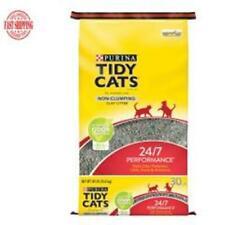 New listing Tidy Cats Non Clumping Cat Litter 24/7 Performance Multi Cat Litter 30 lb Bag