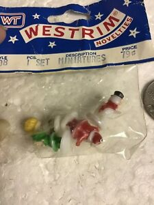 Craft Plastic Christmas Miniatures
