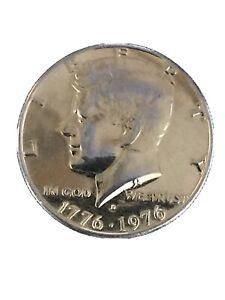 1776  1976 D. Bicentennial Kennedy Half Dollar Tinted  gold