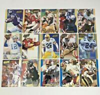 '91-'92 Action Packed Football Cards Gold lot 30 Cards, JOHN ELWAY, JIM LACHEY