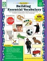 Building Essential Vocabulary: Reproducible Photo Cards, Games, and  - VERY GOOD