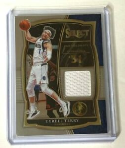 2020-21 Panini Select Basketball TYRELL TERRY RC jersey relic