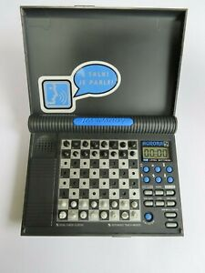 Vintage Saitek Kasparov Aurora KO3V/W Electronic talking chess game