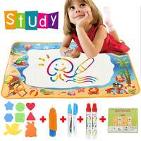 Wasser Spielzeug Zeichnung Malerei Matte mit 5 Stiftes Painting für Baby Kinder