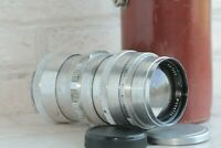 Soviet lens TELEMAR - 22 (5,6/200) KMZ mount: M42 Copy Sonnar USSR RF