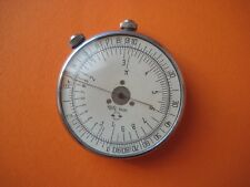 Vintage USSR soviet round pocket watch model slide rule KL-1