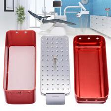72 Hole Autoclave Sterilizer Case Burs Dental Endo Files Holder Disinfection Box
