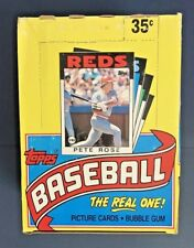 1986 Topps Baseball UNOPENED Wax Pack Box 36 Packs